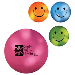 Mood Smiley Face Stress Ball promotional products, custom printed stress reliever, custom stress ball, employee appreciation gifts, mood color changing promotional products, smiley face promotional items, trade show giveaways