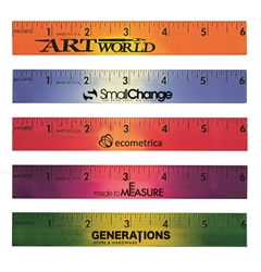 Custom Mood Wood Ruler, 6"