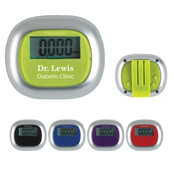 Multi-Function Pedometer Multi-Function Pedometer, Multi-Function, Pedometer, Stepper, Imprinted, Personalized, Promotional, with name on it, giveaway,