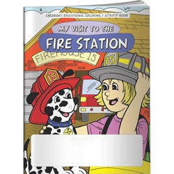 My Visit to the Fire Station Coloring Book My Visit to the Fire Station Coloring Book, BetterLifeLine, BetterLife, Education, Educational, information, Informational, Wellness, Guide, Brochure, Paper, Low-cost, Low-Price, Cheap, Instruction, Instructional, Booklet, Small, Reference, Interactive, Learn, Learning, Read, Reading, Health, Well-Being, Living, Awareness, ColoringBook, ActivityBook, Activity, Crayon, Maze, Word, Search, Scramble, Entertain, Educate, Activities, Schools, Lessons, Kid, Child, Children, Story, Storyline, Stories, Fire, Safety, Burn, Fireman, Fighter, Department, Smoke, Danger, Forest, Station, Protect, Protection, Emergency, Firefighter, First Aid,Imprinted, Personalized, Promotional, with name on it, Giveaway,