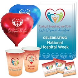 National Hospital Week Celebration Party Pack Hospital Week theme decoration pack,  Hospital Week theme Party Pack, National Hospital Week Celebration Pack, Nurses Appreciation, Week, Nurses theme Celebration Pack