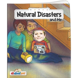 Natural Disasters and Me All About Me Natural Disasters and Me All About Me, BetterLifeLine, BetterLife, Education, Educational, information, Informational, Wellness, Guide, Brochure, Paper, Low-cost, Low-Price, Cheap, Instruction, Instructional, Booklet, Small, Reference, Interactive, Learn, Learning, Read, Reading, Health, Well-Being, Living, Awareness, AllAboutMe, AdventureBook, Adventure, Book, Picture, Personalized, Keepsake, Storybook, Story, Photo, Photograph, Kid, Child, Children, School, Safe, Safety, Protect, Protection, Hurt, Accident, Violence, Injury, Danger, Hazard, Emergency, First Aid, Imprinted, Personalized, Promotional, with name on it, giveaway,