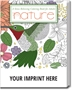 Nature Stress Relieving Coloring Books for Adults | Promotional Coloring Books | Care Promotions