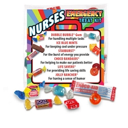 Nurses Emergency Treat Kit Nurses survival kit, Nurses treat giveaway, nurses appreciation treat set, Nurses Candy Kit