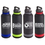Nurses, Healthcare, Essential Worker Appreciation Trenton 25 oz. Vacuum Insulated Stainless Steel Bottle Nursing Appreciation,promotional water bottle, promotional vacuum bottle, custom logo water bottle, promotional drinkware, custom vacuum insulated drinkware, employee wellness gifts, fitness promotional items