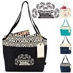 Nurses: Incredible, Dependable, Unforgettable! Tori Cotton Fashion Tote