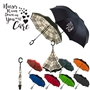 """Nurses Rain Down on You With Care"" Reversible Umbrella reversible umbrella, promotional umbrella, custom logo umbrella, custom printed umbrella, employee appreciation gifts, corporate holiday gifts, thank you gifts"
