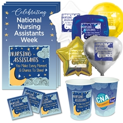 """Nursing Assistants: You Make Every Moment A Chance To Shine"" Celebration Party Pack     Nursing Assistants theme decoration pack, CNA theme Party Pack,  NA theme Party Pack, Nursing Assistants Celebration Pack, Nursing Assistants Appreciation, Week, Certified Nursing theme Celebration Pack"