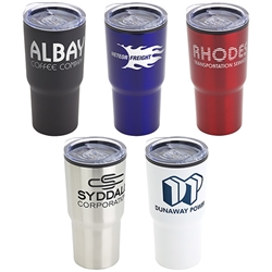 Odyssey 20 oz Stainless Steel & Polypropylene Tumbler   20 oz tumbler, Imprinted Tumblers, Stainless Steel Tumblers, Care Promotions,