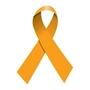 Orange Ribbon Temporary Tattoo | Multiple Sclerosis Awareness Giveaways | Care Promotions