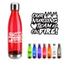"""Our Nursing TEAM is on FIRE!"" Bayside 25 oz Tritan Water Bottle with Stainless Base and Cap   Nurses, Appreciation, Nursing Theme Appreciation, 25 oz bottle, water, bottle, Care Promotions,"