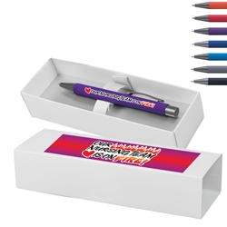"""Our Nursing TEAM is on FIRE!"" Bowie Softy Pen & Gift Box  Nurses Week, Theme, Pen,Nursing Appreciation, Decorated, Pen with gift box, Pen and Gift Box, Logo Pen and Gift Box, Imprinted, Personalized, Promotional, with name on it"