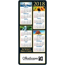 Our Service Is Always In Season 2018 E-Z 2 Stick Magnetic Calendar  Mailable Calendar, Direct Mail Calendar, Customer Calendar Stick Up, Wall Calendar, Planner, The Positive Line, Business Calendar, Office Calendar, Business Gifts, Corporate Gifts, Sales and Marketing, Sales Meetings, Giveaways, Promotional Calendars