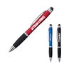 Our TEAM is On FIRE! Illuminated Stylus Pen  Light Up Logo, Logo light, Pen, Ballpoint, Plastic, Imprinted, Personalized, Promotional, with name on it, giveaway, black ink, blue ink, promotional pens, custom logo pens, logo pens, pens with logo, custom stylus pen