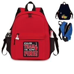 Our TEAM is on FIRE! Excel Laptop Backpack  All Purpose, Excel, Laptop, Backpack, Promotional, Imprinted, Polyester, Gift, Earphone Outlet, Organizer, Electronic, holder