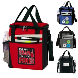 Our TEAM is on FIRE! Rocket 12 Pack Cooler  TEAM lunch bag, theme lunch bag, Employee Appreciation Theme lunch bag, lunch cooler, Rocket, 12 Pack Cooler, Plus, Continental Marketing, Care Promotions, Lunch Bag, Insulated, Barrel, Travel, Employee, Nurses, Teachers, Volunteers, Healthcare, Staff Gifts