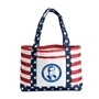 Patriotic Tote Bag tote bag, promotional bags, promotional products, USA, america, red, white, and blue, patriotic promotions,