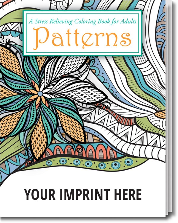 - Patterns Stress Relieving Coloring Book For Adults