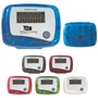 Pedometer Pedometer, Basic, Inexpensive, Translucent, Imprinted, Personalized, Promotional, with name on it, giveaway,