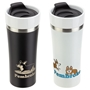 Pembroke 13 oz Ceramic + Stainless Steel Tumbler promotional ceramic Stainless bottle, promotional ceramic bottle, custom logo, ceramic bottle, promotional drinkware, custom vacuum insulated drinkware, employee wellness gifts, fitness promotional items