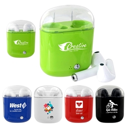 Periscope Custom Bluetooth Ear Buds | Care Promotions