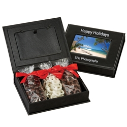 Picture Frame Keepsake Box with Treats | Care Promotions