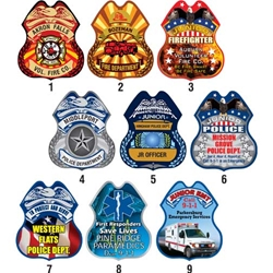 Full Color Printed Plastic Badge | Care Promotions