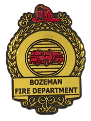 Plastic Fire Badge fire badge, junior firefighter, fire department, fire prevention, fire prevention week, fire prevention giveaways, fire safety promotional products