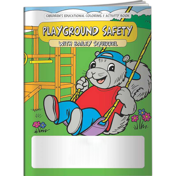 Playground Safety With Bailey Squirrel Coloring Book