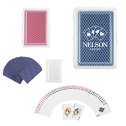 Playing Cards In Case Playing Cards In Case, Playing, Cards, In, Case, Imprinted, Personalized, Promotional, with name on it, giveaway,