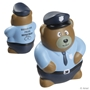 Police Bear Stress Reliever law enforcement promotional items, police promotional item, crime prevention promotional items, crime prevention month giveaways, police car promotional items, police car stress reliever, police car stress ball