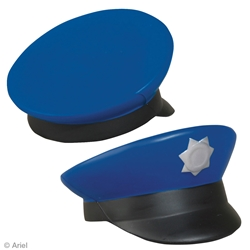 Police Cap Stress Reliever | Care Promotions