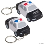 Police Car Stress Reliever Key Chain safety promotional items, police promotional items, law enforcement promotional items, crime prevention month giveaways, crime prevention handouts, promotional stress relievers, police handouts for kids, community safety promotions