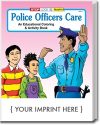 Police Officers Care Coloring & Activity Book | Care Promotions