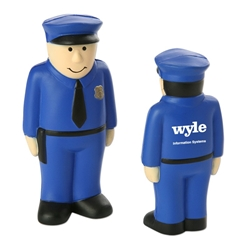 Policeman Stress Reliever | Care Promotions