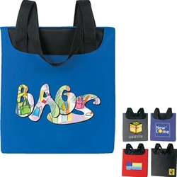 Promotional Tote Promotional, Tote, Polyester, Meeting, Promotional Events, Trade Show Totes, Health Fair, Imprinted, Reusable