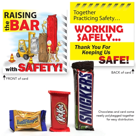 Raising the Bar with Safety Mini Treat Set | Workplace Safety Rewards | Care Promotions