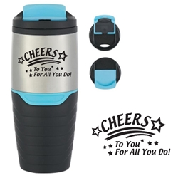 Recognition & Appreciation Stock Design 16 Oz. Stainless Steel Tumblers With Flip Lock Lid 16 Oz. Stainless Steel Tumbler With Flip Lock Lid, Stainless, Appreciation, Recognition, Stock Design, Steel, Tumbler, Travel, Flip, Top, Lock, Lid, Mug, Imprinted, Personalized, Promotional, with name on it, Gift Idea, Giveaway,