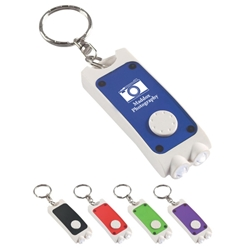 Rectangular Dual LED Key Chain Rectangular Dual LED Key Chain, Rectangular, Dual, LED, Key, Chain, Imprinted, Personalized, Promotional, with name on it, giveaway,