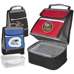 Replenish Store N Carry Lunch Box Lunch Cooler, with, Lunch Plate, lunch plate cooler, lunch bag plate set,  personalized, with logo, imprinted
