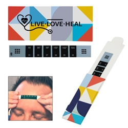 Reusable Forehead Thermometer Thermometer, Medical, Temperature, Cold, Flu, Quick Results, Reliable, Fast, Easy, Fever, Imprinted, Personalized, Promotional, with name on it, giveaway,