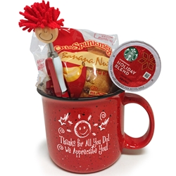 Rise and Shine Appreciation Ceramic Gift Set  Ceramic, Campfire, Mug Set,  Breakfast Appreciation Gift, Morning Meeting Ice Breakers, Breakfast Recognition gift, Appreciation, Holiday Appreciation, Gift Set, Team, Staff, Gifts, Appreciation, Care, Nurses, Volunteers, Team, Healthcare, Teachers, Staff, Housekeepers, Environmental Services, Incentives, Holiday Gift Ideas,