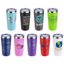 SENSO™ Classic 17 oz Vacuum Insulated Stainless Steel Tumbler 17 oz Vacuum Insulated Stainless Steel Bottle, imprinted travel tumbler, Stainless Steel travel tumbler, Imprinted Tumblers, Imprinted, personalized, with name on it, Care Promotions,