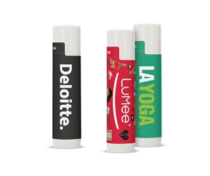 Custom SPF 15 Lip Balm in White Tube | Care Promotions