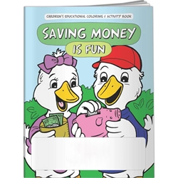 Saving Money is Fun Coloring Book Saving Money is Fun Coloring Book, BetterLifeLine, BetterLife, Education, Educational, information, Informational, Wellness, Guide, Brochure, Paper, Low-cost, Low-Price, Cheap, Instruction, Instructional, Booklet, Small, Reference, Interactive, Learn, Learning, Read, Reading, Health, Well-Being, Living, Awareness, ColoringBook, ActivityBook, Activity, Crayon, Maze, Word, Search, Scramble, Entertain, Educate, Activities, Schools, Lessons, Kid, Child, Children, Story, Storyline, Stories, Financial, Debit, Credit, Check, Credit union, Investment, Loan, Savings, Finance, Money, Checking, Cash, Transactions, Budget, Wallet, Purse, Creditcard, Balance, Reconciliation, House, Home, Mortgage,Imprinted, Personalized, Promotional, with name on it,