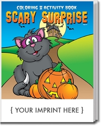 Scary Surprise Coloring & Activity Book | Care Promotions
