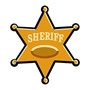 Sheriff Badge Temporary Tattoo | Care Promotions