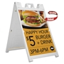 Signicade Deluxe A-Frame Sign Kit | Care Promotions