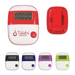 Simple Step Pedometer Simple Step Pedometer, Simple, Step, Pedometer, Walk, Walking, Imprinted, Personalized, Promotional, with name on it, giveaway,