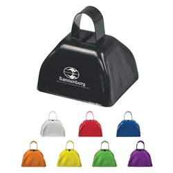 Small Cow Bell Small Cow Bell, Small, Cow, Bell, Imprinted, Personalized, Promotional, with name on it, giveaway,